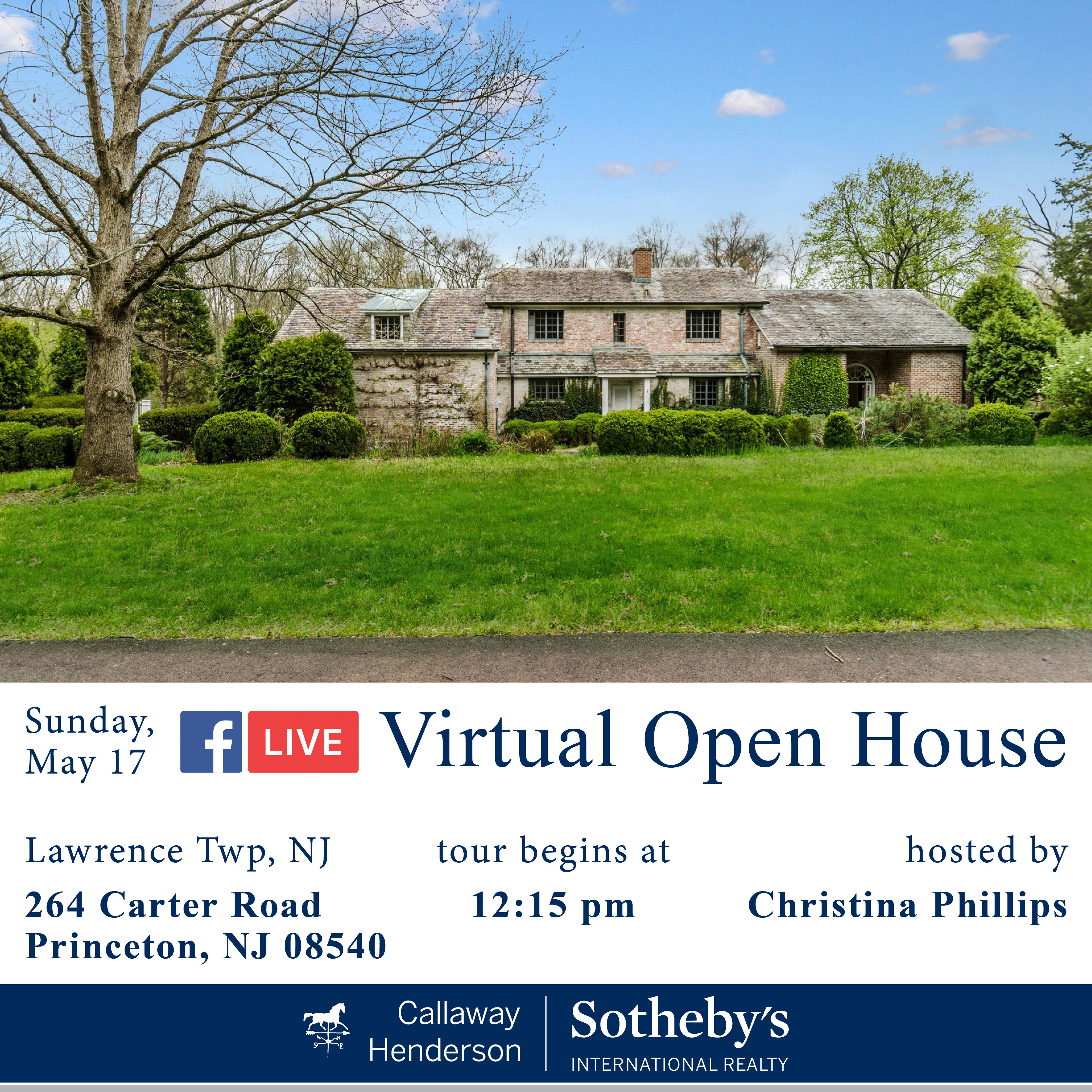 20200517 Live Virtual Open House Template-Carter Road 264