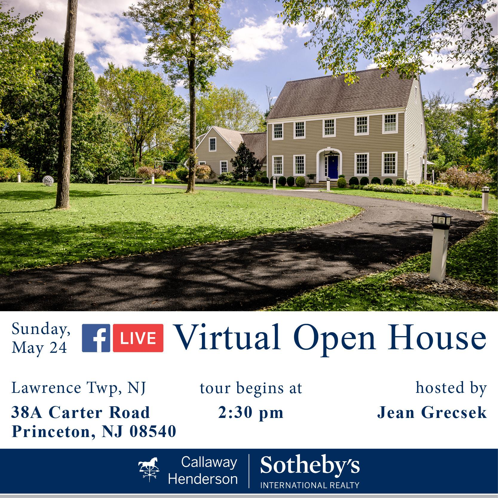 Live Virtual Open House Template-Carter Road 38A